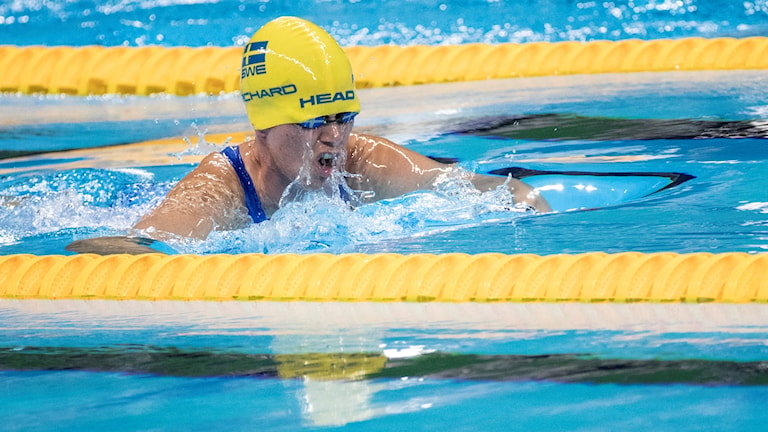 Maja Reichard failed to defend her Paralympic Gold in the 100m breastroke.Photo:Björn Rosvall/TT