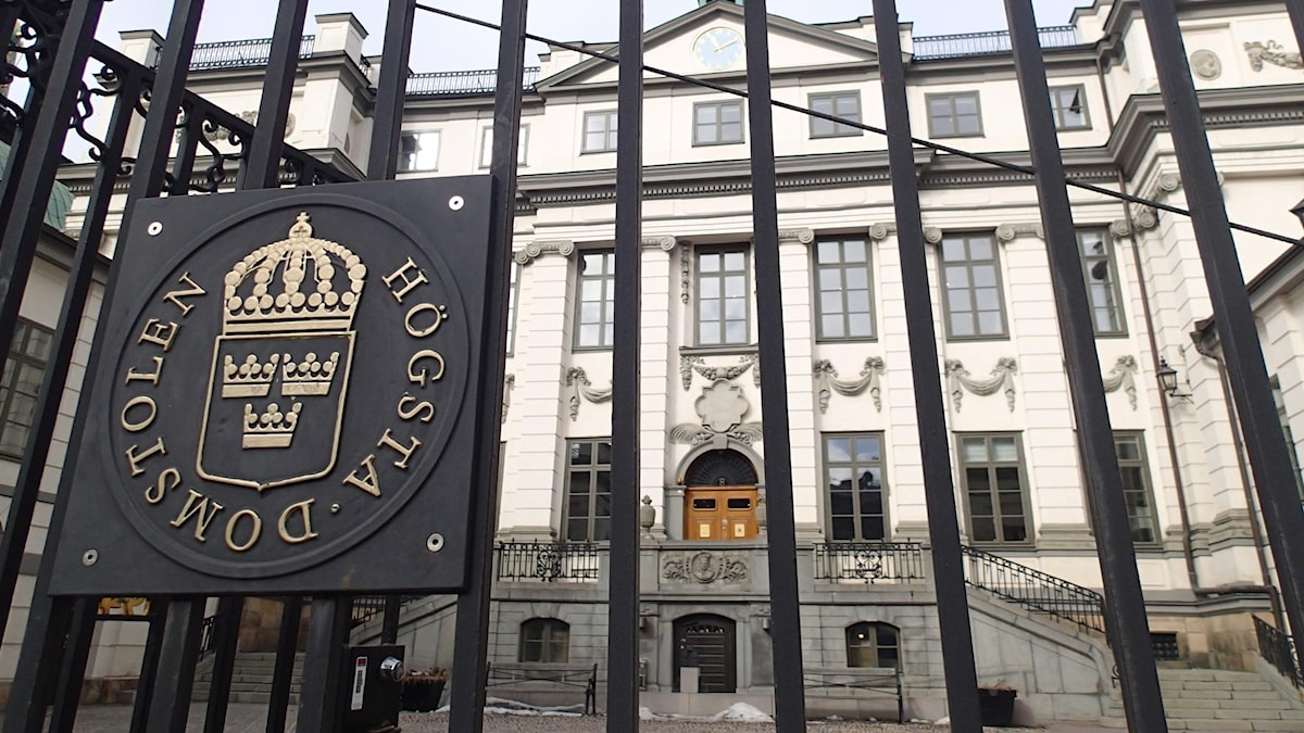 Sweden Supreme Court gates