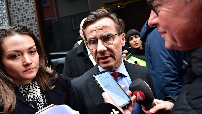Moderate Party leader Ulf Kristersson