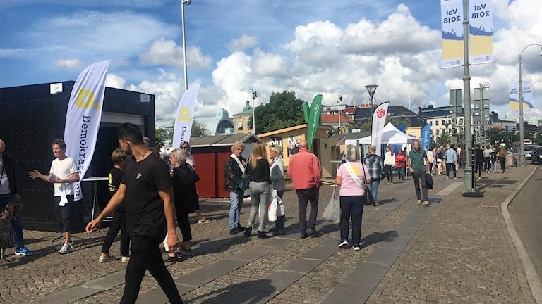Election stalls in Gothenburg.