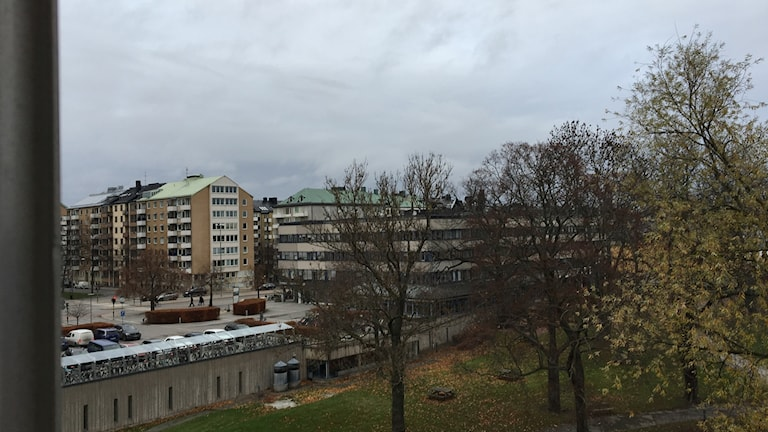 A typical November day outside our office at Broadcasting House in Stockholm.