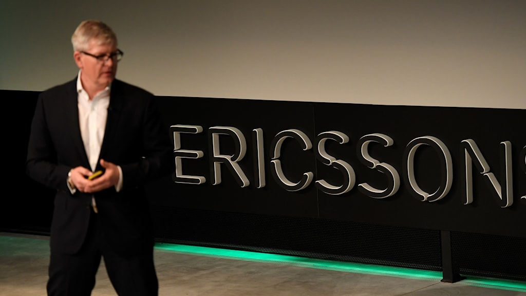 Ericssons CEO Börje Ekholm presenting the company's annual report and fourth quarter earnings report on Thursday.