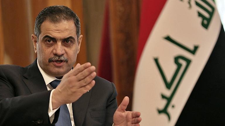 Najah al-Shammari, Iraqi defence minister.
