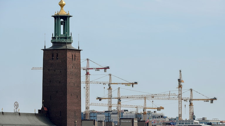Sweden is experiencing a building boom.