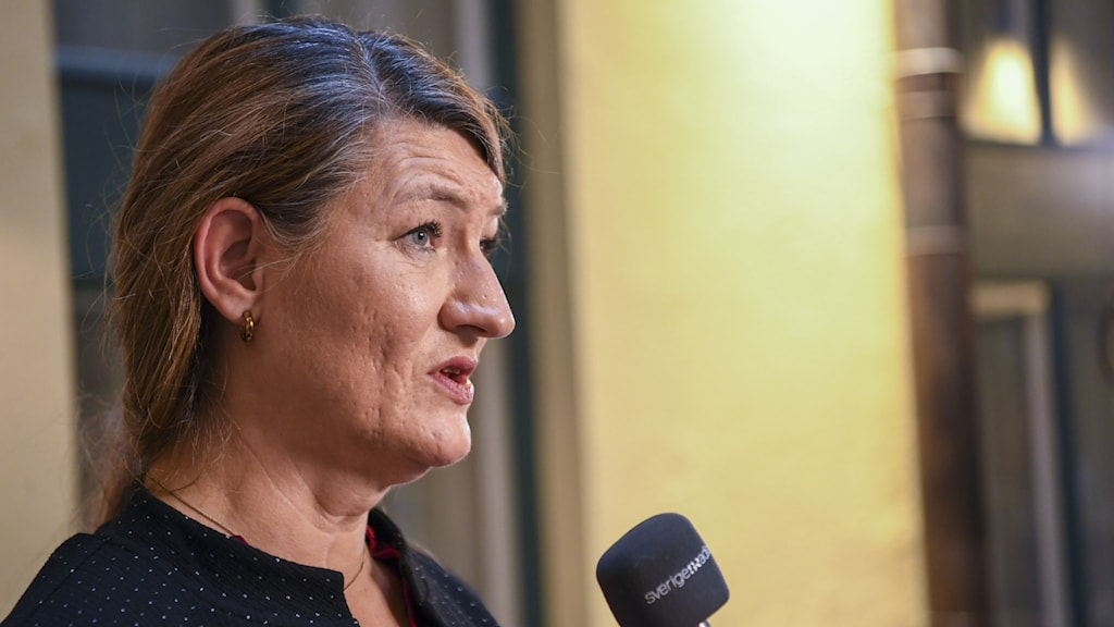 Susanna Gideonsson is the chairwoman for LO Sweden.