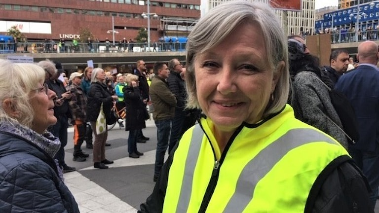 Petrol's rising costs spark protest rally in Stockholm - Radio Sweden