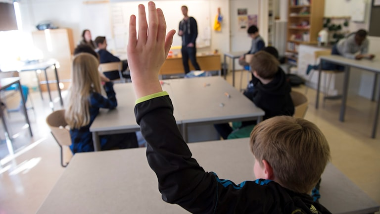 Only 6 percent of teachers in Sweden are under the age of 30. File photo: Fredrik Sandberg/TT