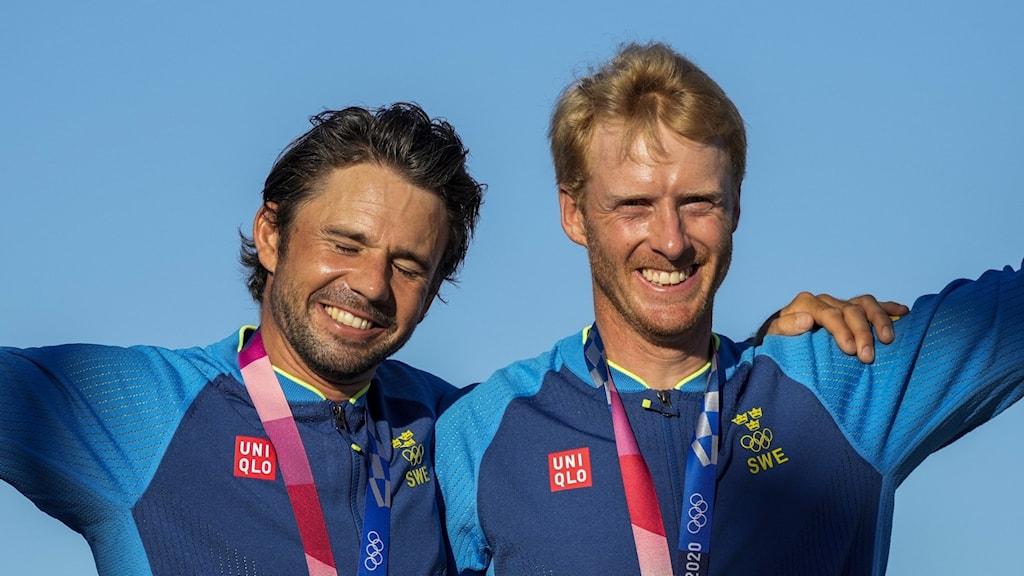 Picture of Anton Dahlberg and Fredrik Bergström