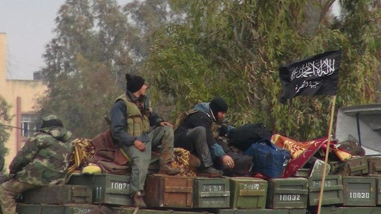 Members of Jabhat al-Nusra.