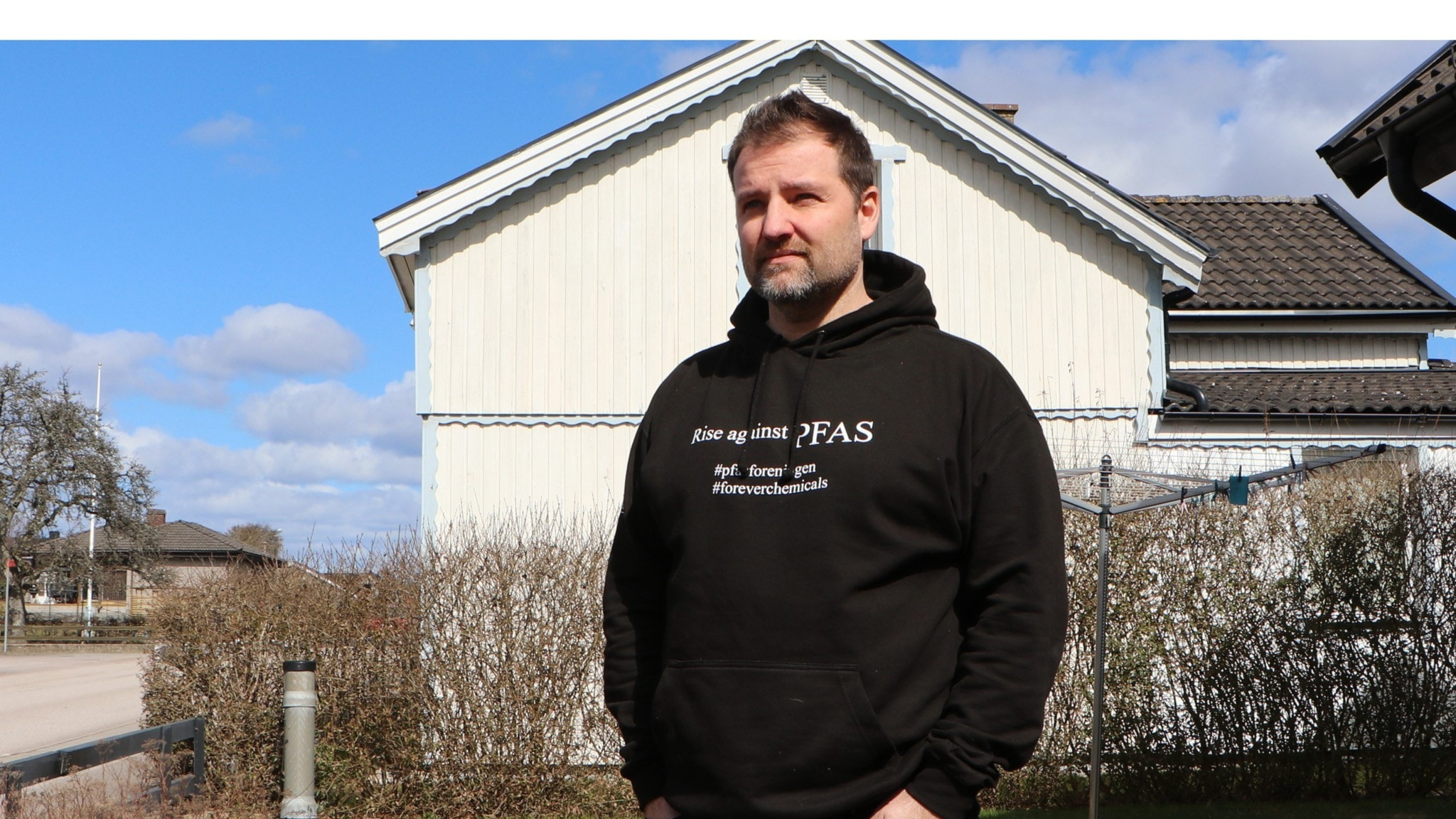 Herman Afzelius, one of over 160 residents in the small town of Kallinge who unknowlingly drank water contaminated with high levels of PFAS for many years.