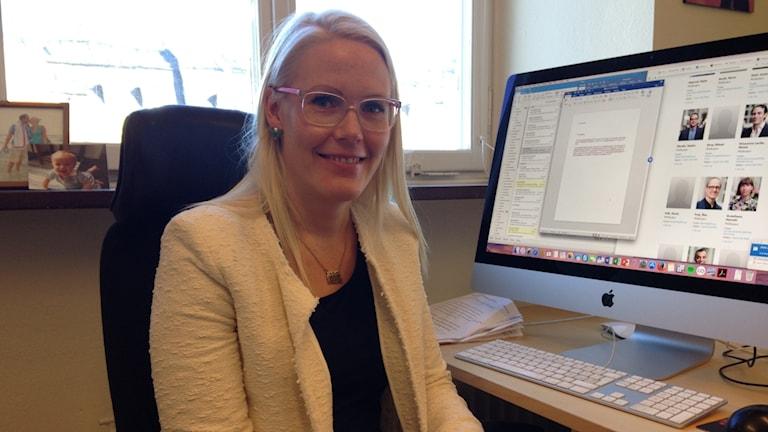 Anna Dreber Almenberg, Professor of Economics at the Stockholm School of Economics.
