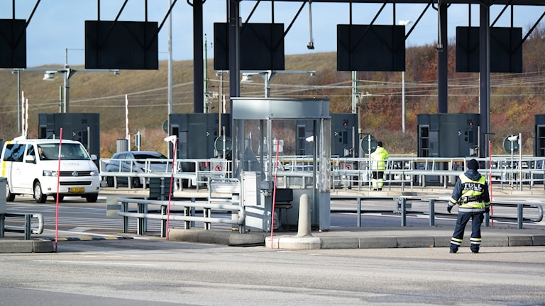 Border controls at the Öresund Bridge