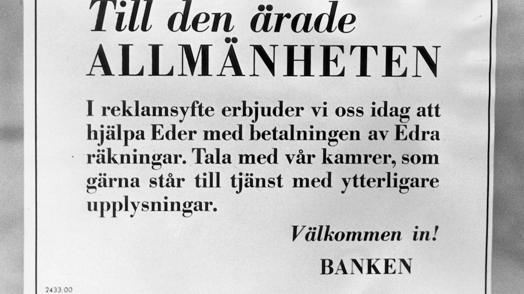 Old Swedish newspaper clipping with April fool's joke
