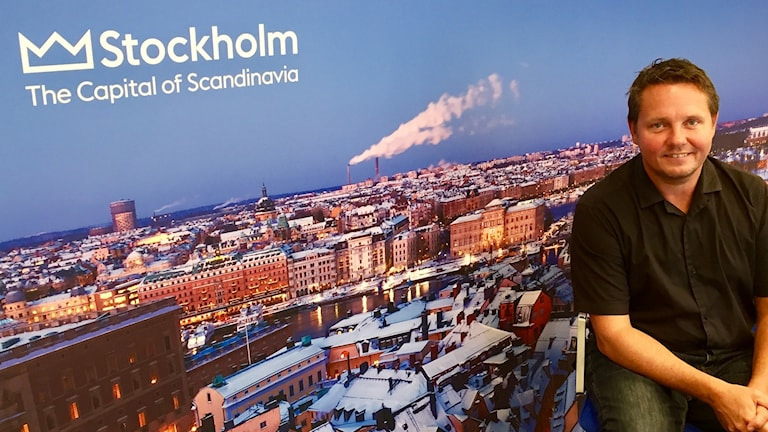 Thomas Andersson is the CEO of Visit Stockholm.
