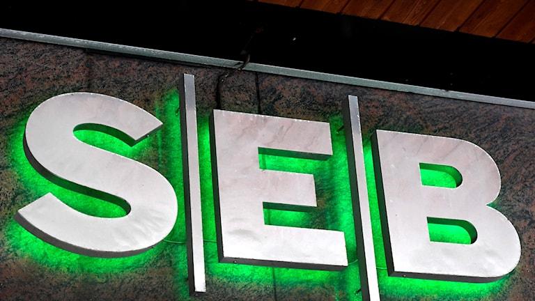 The logo of SEB