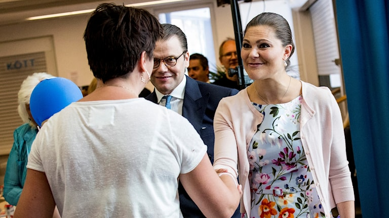 Crown Princess Victoria and Prince Daniel were in attendance at the citizenship ceremony in Nacka. Photo: Christine Olsson/TT