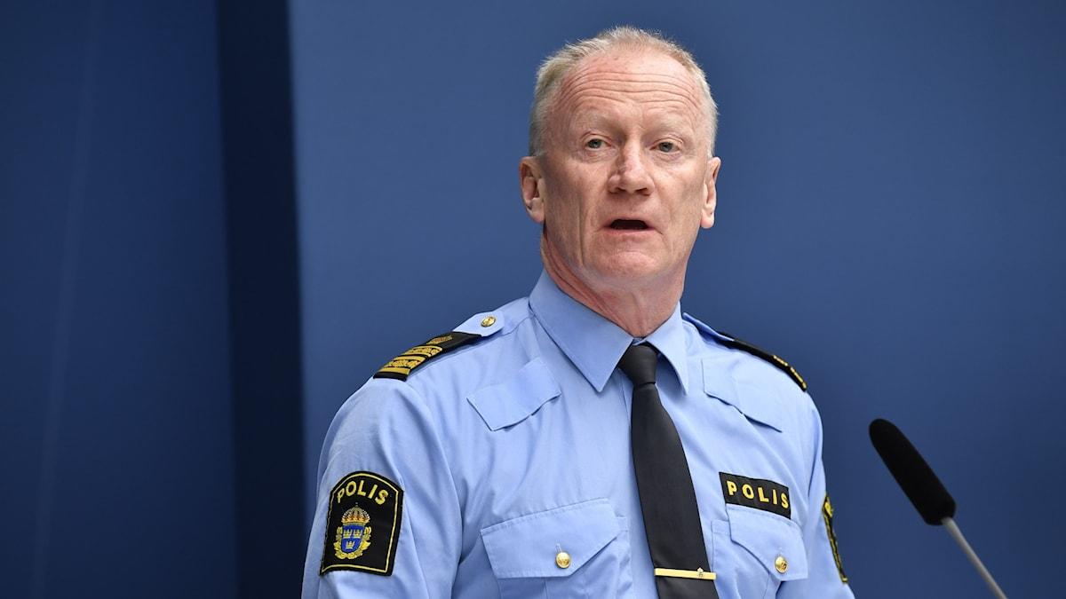 Per Engström, kommenderingschef för den nationella särskilda händelsen Corona