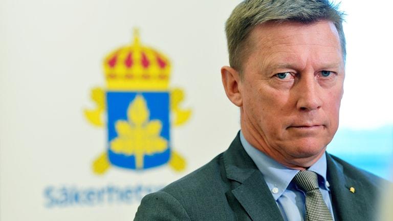 Klas Friberg, säkerhetspolischef