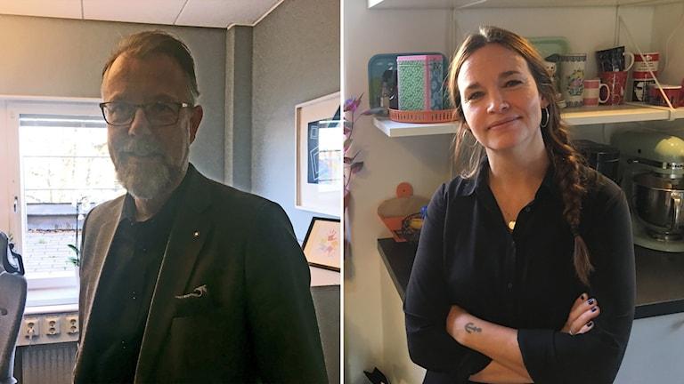 Robert Fahlström and Irja Berntson