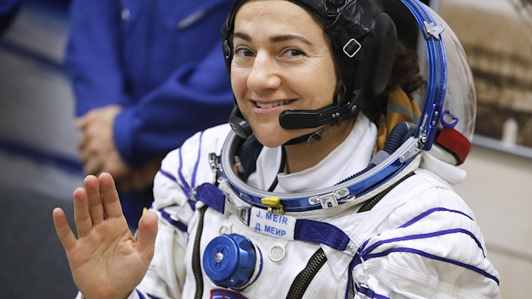 Jessica Meir is the second Swedish astronaut into space, following Christer Fugelsang.