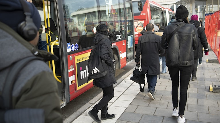 Bussresenärer.