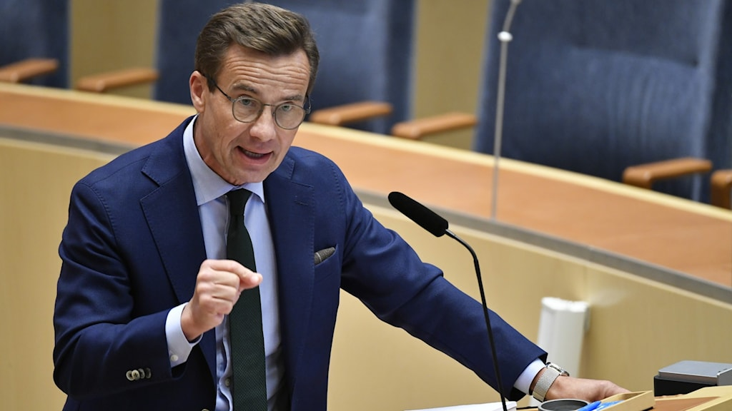 Moderate Party leader Ulf Kristersson.