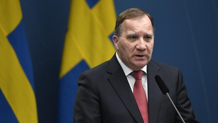 Prime Minister Stefan Löfven.