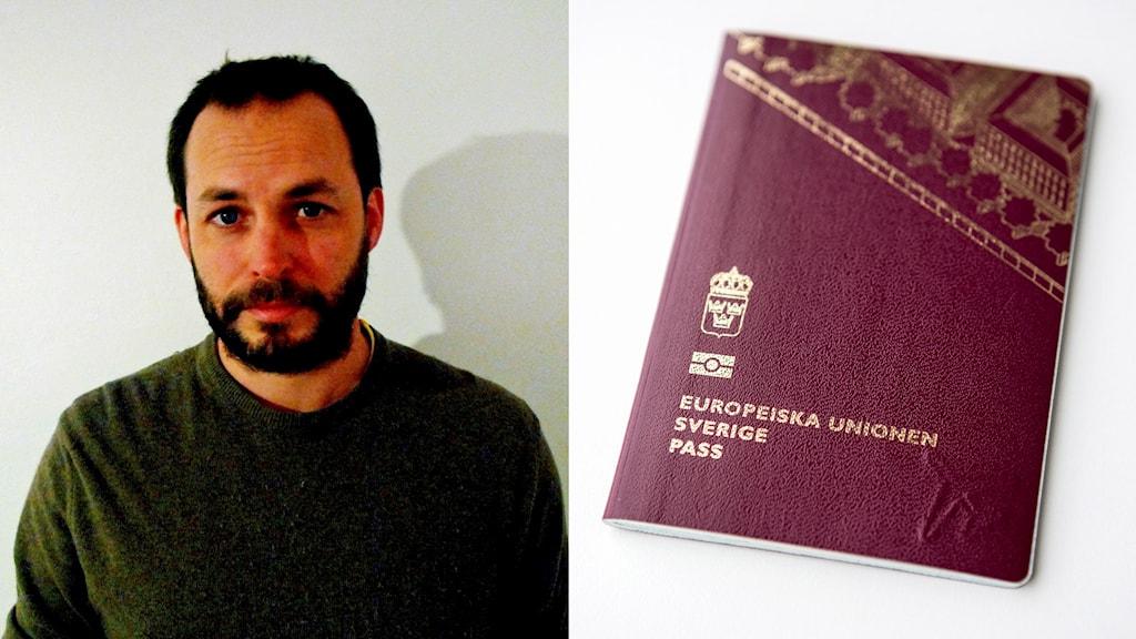 Gavin Maycroft and a Swedish passport.