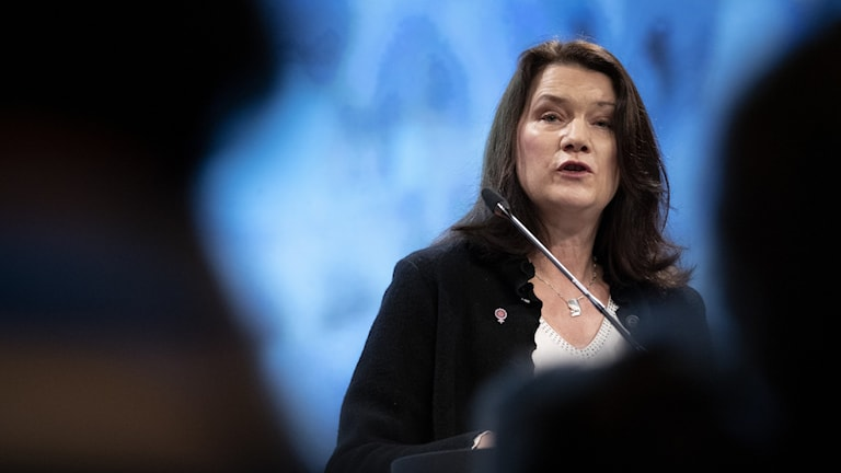 Swedish foreign minister Ann Linde.