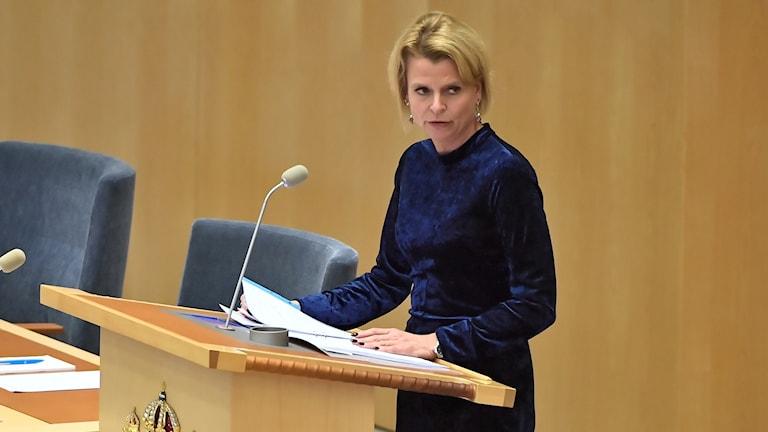 Minister of Gender Equality Åsa Regnér (S).