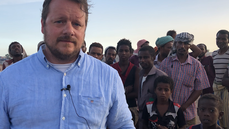 What it's like as a foreign correspondent in a war zone - Radio Sweden