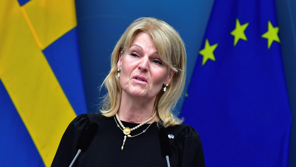 Anna Hallberg is Sweden's Minister for Foreign Trade.