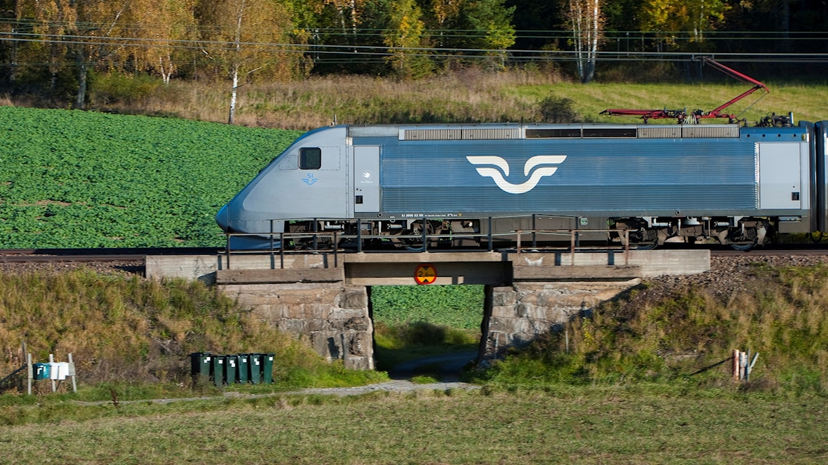 The Swedish high-speed train X2000. Photo: Jonas Ekströmer/TT