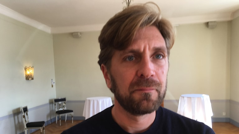 Ruben Östlund who directed his fifth feature film, The square.