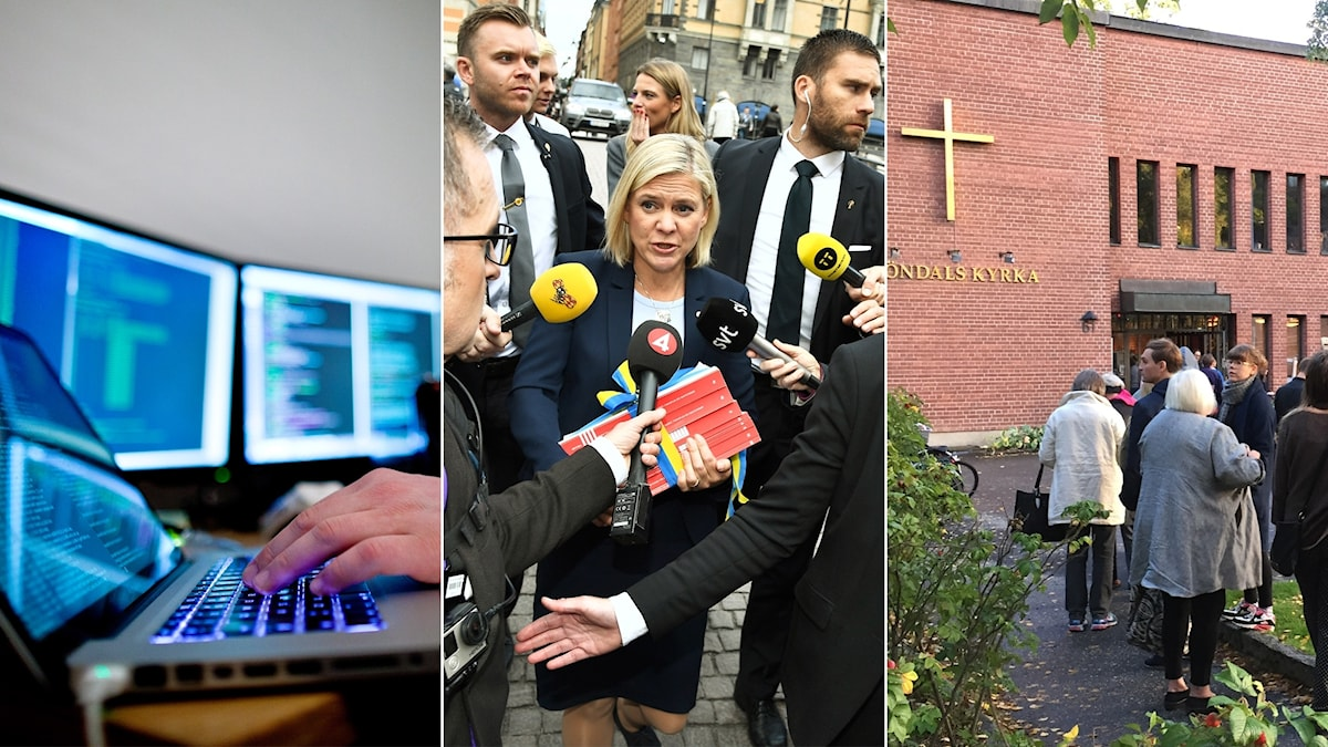 Budget proposal, IT hacking and church elections in this edition of Radio Sweden Weekly.