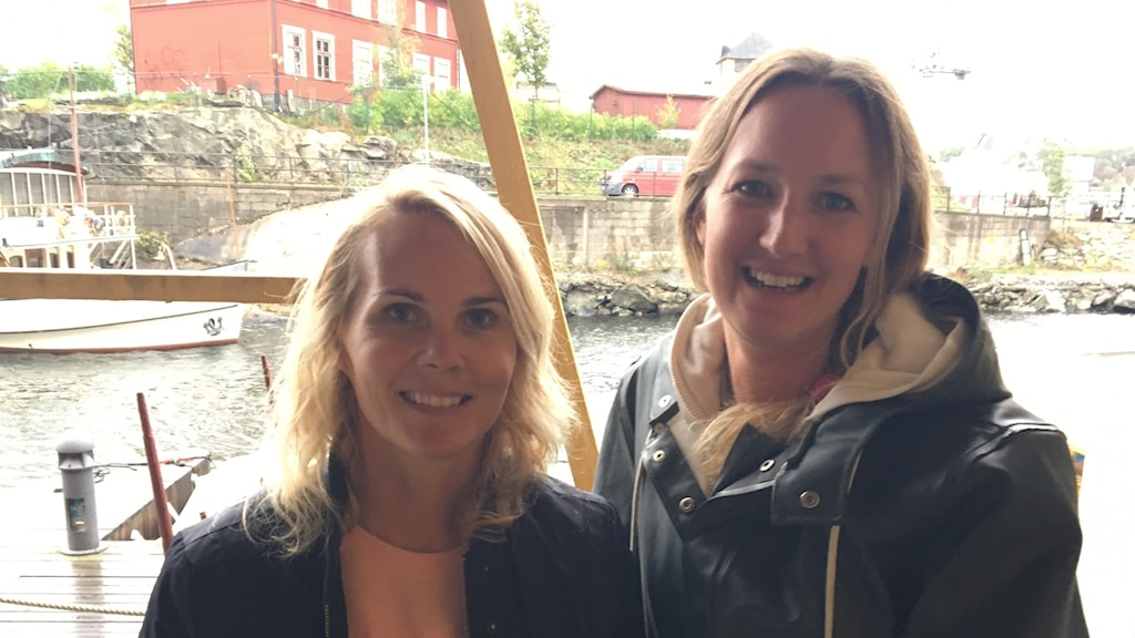 Maria Rindstam and Josefin Arrhénborg