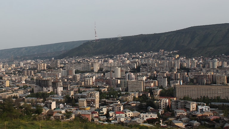 View over Tbilisi, Georgia