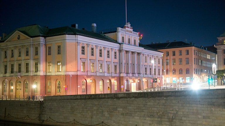 Utrikesdepartementet i Stockholm.