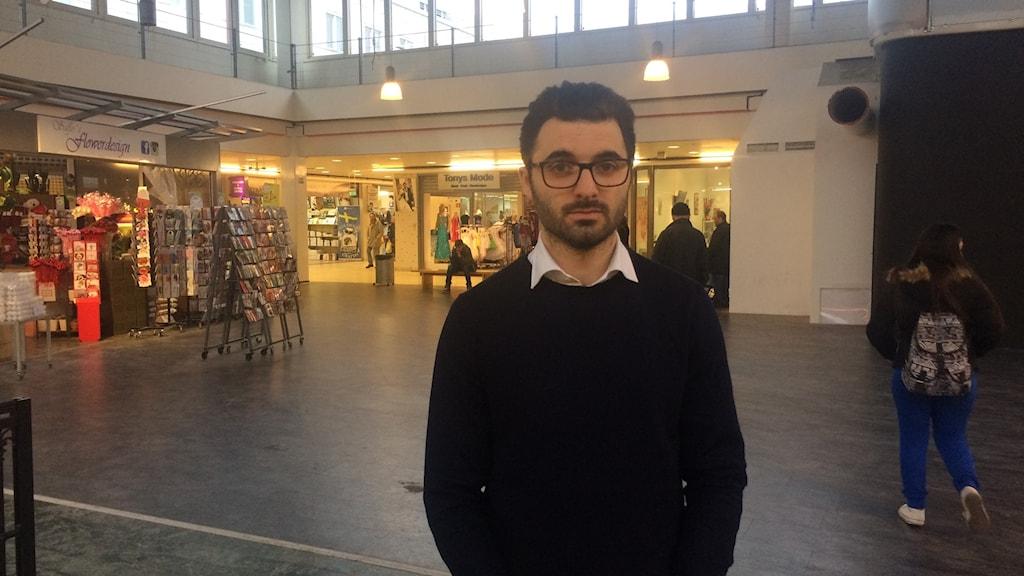 Tomaj Keyvani, who works for the municipality to develop the Hallunda Norsborg area.