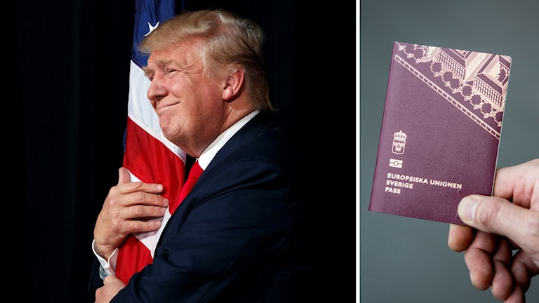 Swedes with dual citizenship are unaffected by the recent US travel ban.