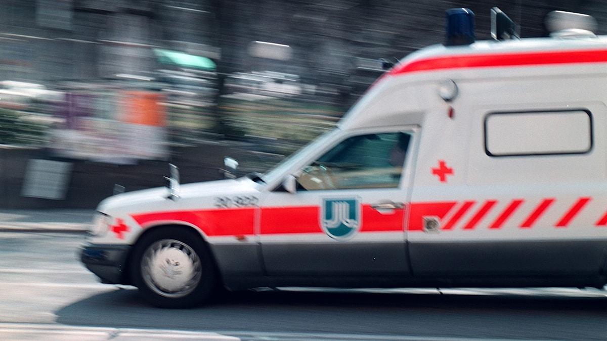 Ambulance on its way.