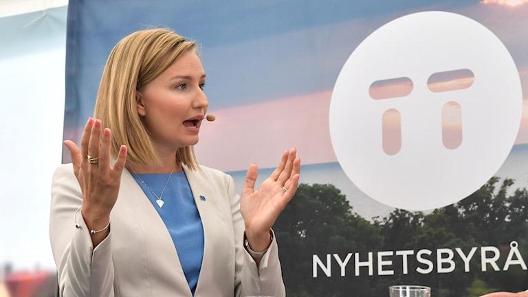 Christian Democrat leader Ebba Busch Thor.