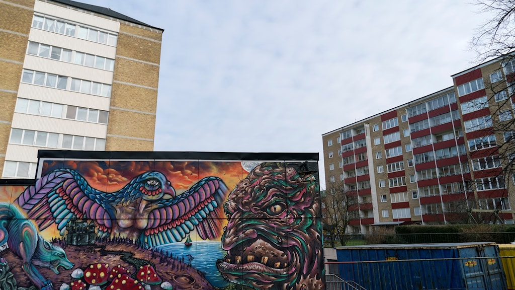 """Nydala in Malmö has been classed by police as """"an especially vulnerable"""" area."""