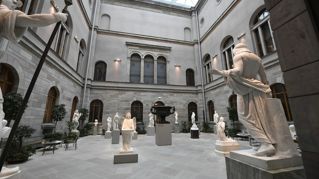 File photo of the National Museum in Stockholm.