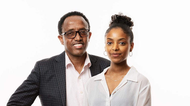 Picture of Rahwa Dagnew and Yohannes Zeru from Radio Sweden Igrinya