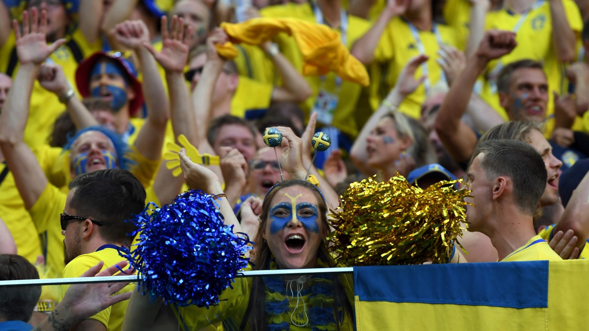 Sweden to World Cup 2018 quarterfinals, Almedalen, new sexual consent law