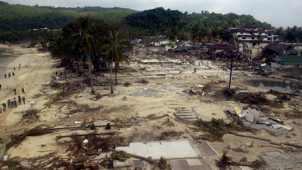 Picture of the devastation in Thailand