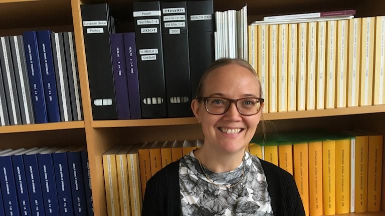 Researcher Emma Fransson.