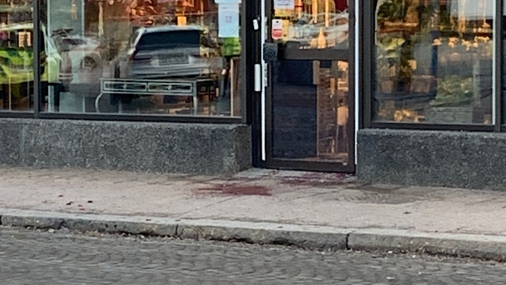 One of the five crime scenes in the attack.