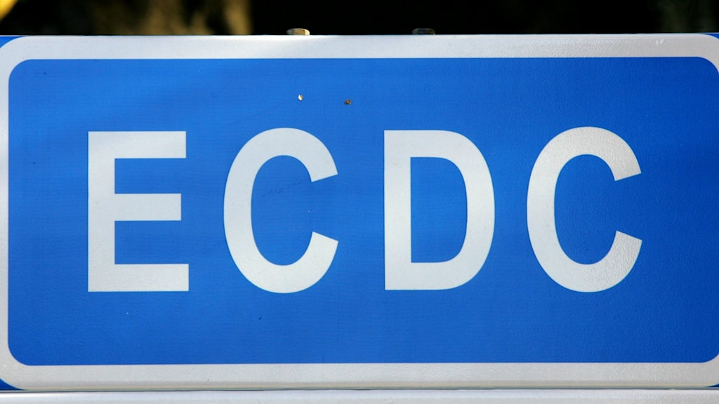 Road sign for the ECDC office.